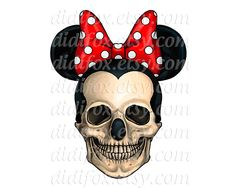 drawings mickey skull - Pesquisa Google