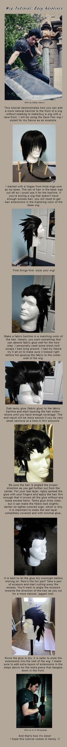 Easy Hairline tutorial