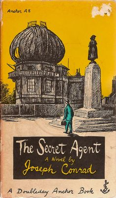 youngmonsters:   Edward Gorey cover to 'The Secret Agent' by Joseph Conrad.