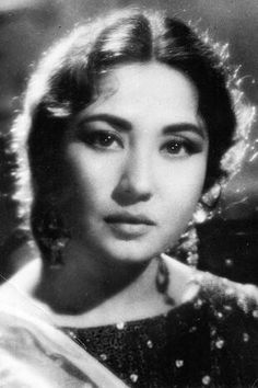 Also could be Marilyn Monroe of Indian Cinema, Meena  Kumari. Her Hit Movie 'Pakizah' was acclaimed one of the great movies of all times(read Wikipaedia for her Bio)