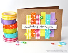 Card: Thinking About You card