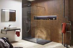 Un receveur de douche performant : Notre sélection de douches à l'italienne pour la salle de bains - Linternaute