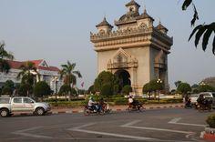 L'arc de triomphe de Vientiane ©Salaün Holidays