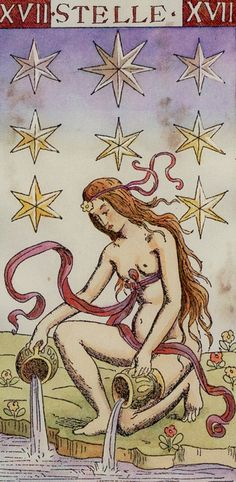 The Star from the Master Tarot/Tarocchi del Maestro/Tarot of the Master