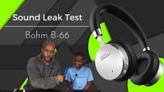 Product link: http://amzn.to/2mdz5Bw Amazon Prime Music 30-day Free Trial http://amzn.to/2ktdLdl  The BÖHM B-66 on Wireless goes through the Sound Leak and Sound Isolation Test.   Sound: Just awesome. Plugged in is better than via the bluetooth connection. The noise cancellation works and I mean it really works well (the button in the middle of the earpiece turns it on and off). Does it eliminate all exterior sound - no - but it does as good a job as top of the line headphones. I can hear…