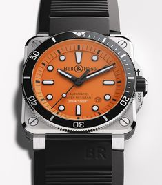 *Blog Update - Read iN!* #BellRoss 42mm BR 03-92 Diver Orange🌊 Set for New Depths!🏊‍♀️xxx/250 Limited Edition⌚️🎉