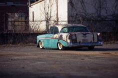 This One-Of-A-Kind 1956 Chevy Is Pure Automotive Art