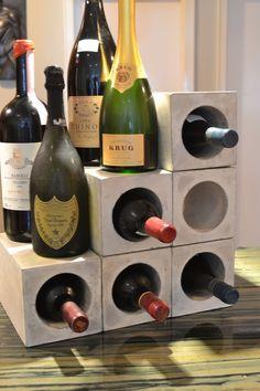 Concrete Wine Bunker by decoratelier on Etsy