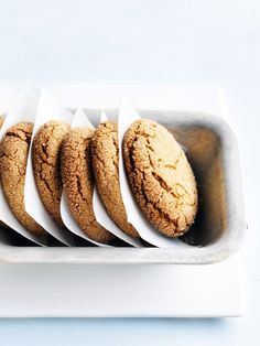 coconut oil and golden syrup cookies. The coconut and golden syrup cookies are a chewy centred biscuit. For a crunchier biscuit, cook for an extra couple of minutes.