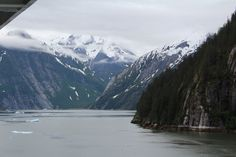 Tracy Arm Fjord , seen on Alaskan Cruise 2010