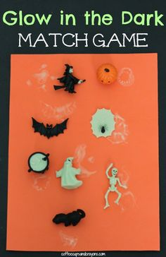 Halloween glow in the dark.... Would be fun to play hide and seek with at night time.
