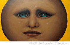 DESERT by DIREN LEE acrylics on canvas