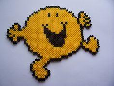 Mr. Happy hama beads