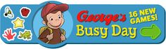These games a wonderful for math skills! My three-year-old loves them! Online Fun, Online Games For Kids, Fun Sites, Pbs Kids, Curious George, Old Love, Three Year Olds, Popular Books, Math Skills