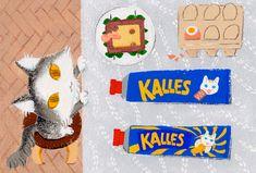"for exhibition in 2020 "" CATrip "" Sweden, Sugar, Cookies, Note, Illustration, Desserts, Crack Crackers, Tailgate Desserts, Deserts"