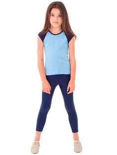 American Apparel Kids Shiny Leggings $10.00 #topseller