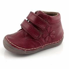 Oh soooo Cute & Comfy soft leather boot from Froddo. Red Boots, Childrens Shoes, Velcro Straps, Soft Leather, Comfy, Autumn, Winter, Sneakers, Collection