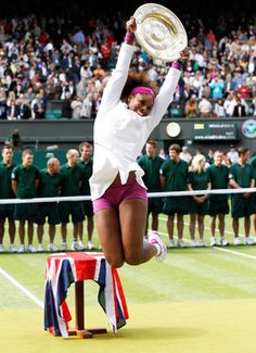 Serena Williams wins Wimbledon2012