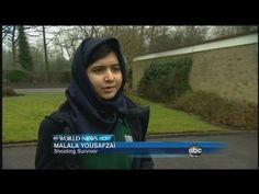 Malala Yousafzai Returns to School