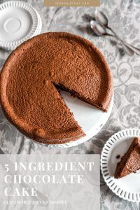Vera Said That– 5 Ingredient Chocolate Cake (Gluten and Sugar-free) New Recipes, Cake Recipes, Good Excuses, Batch Cooking, New Flavour, Tasty Dishes, Fun Desserts, Chocolate Cake, Sugar Free