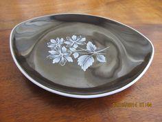 Royal Adderley Black Ring Dish. Pin Dish. by IrishShoppingBasket