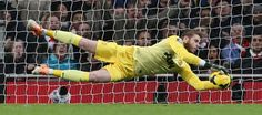 David De Gea told us his favourite save from was his double stop against Olympiacos in the Champions League ♥ Manchester United Video, Arsenal Vs Manchester United, Soccer Highlights, Match Highlights, Man Utd News, Sir Alex Ferguson, Barclay Premier League, Live Matches, Trafford