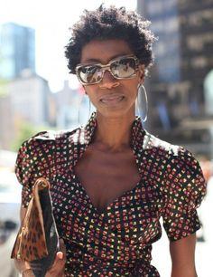 Street Style Hair: New York Fashion Week - Essence African Attire, African Wear, African Dress, African Inspired Fashion, African Fashion, Style Hair, My Style, Ethnic Chic, Kitenge
