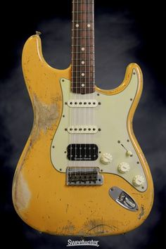 Fender Custom Shop Sweetwater Mod Squad '62 Stratocaster (Butterscotch, Hvy Relic, Strat)