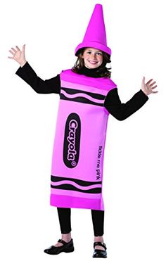 Rasta Imposta Crayola Tickle Me Costume, 7-10 Years, Pink... https://www.amazon.com/dp/B005F25M6U/ref=cm_sw_r_pi_dp_x_UXP6xbEM6E1PS