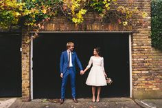 On the blog - a pretty, Autumnal London wedding at Burgh House followed by a cool Camden pub reception at The Prince Albert pub. Featuring conker fights, route master buses, a Fur Coat No Knickers dress and touches of vintage styling. www.babbphoto.com