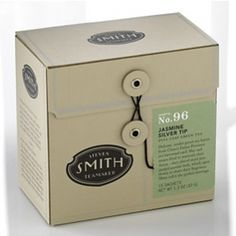 Smith Tea: Gorgeous packaging for this high quality tea.