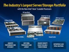 NEW X11 Architecture Launch! #Supermicro have advanced the wide portfolio of servers and solutions to include next generation Intel® Xeon® Scalable Family Processors!