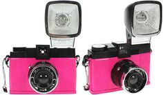 WANT this Diana F+ Mr. Pink camera soooo badddd! Forget instagram - I want this camera and my own dark room.