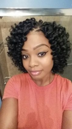 Marley Crochets Crochet Braids Hair styles, Crochet braids styles for crochet braids with marley hair - Crochet Hair Styles Crochet Afro, Crochet Braids Marley Hair, Curly Crochet Hair Styles, Crotchet Braids, Crochet Braid Styles, Curly Hair Styles, Natural Hair Styles, Marley Braids, Hat Crochet