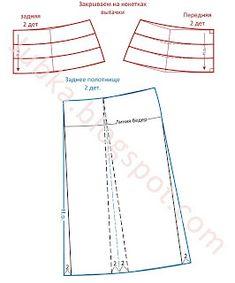 COSTUR@NDO: Falda de tachones encontrados