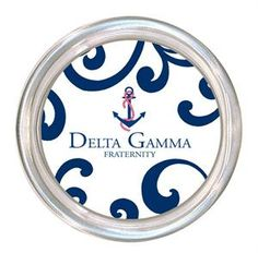 C2130 - Delta Gamma Coaster $24.00 #DeltaGamma