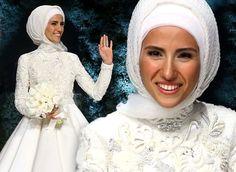 Selçuk Bayraktar ile dünya evine giren Cumhurbaşkanı Erdoğan'ın kızı Sümeyye Bayraktar'ın düğünde giydiği gelinliği kimin tasarladığı belli oldu. Ertuğrul Öz...