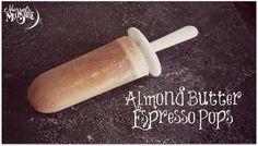 Almond Butter Espresso Ice Pops - The perfect popsicle to transition into fall! Vegan Dessert Recipes, Vegan Sweets, Vegan Foods, Vegan Snacks, Dairy Free Ice Cream, Cinnamon Coffee, Sugar Free Recipes, Vegan Baking, Almond Butter
