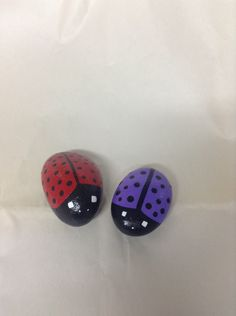 A personal favorite from my Etsy shop https://www.etsy.com/listing/233613292/hand-painted-ladybug-garden-rocks-garden