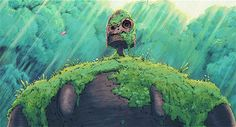 gif hayao miyazaki studio ghibli castle in the sky laputa: castle in the sky millennial asian cinema ghibliedit gif: castle in the sky Totoro, Ghibli Tattoo, Castle In The Sky, Ocelot, Hayao Miyazaki, Miyazaki Tattoo, Studio Ghibli Art, Ghibli Movies, Howls Moving Castle