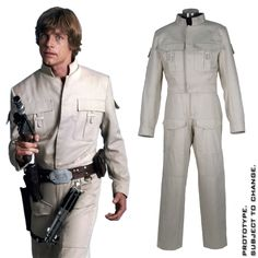 """Star Wars™ - Luke Skywalker Bespin Fatigues from """"Empire Strikes Back"""" 