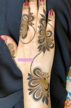 Modern Henna Designs, Arabic Henna Designs, Bridal Henna Designs, Unique Mehndi Designs, Beautiful Mehndi Design, Latest Mehndi Designs, Mehndi Designs For Hands, Henna Tattoo Designs, Khafif Mehndi Design