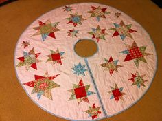 Tree skirt - done!!! by rainbow robot, via Flickr