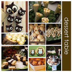 Owl Food Items....YES YES YES YESSSSSSS YEEEEEEEEEEEESSSSSSSSSSS!