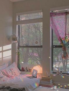 Room Ideas Bedroom, Bedroom Inspo, Bedroom Decor, Dream Rooms, Dream Bedroom, My New Room, My Room, Pastel Room, Cute Room Decor