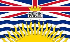 British Columbia is the westernmost province of Canada. In it became the sixth province of Canada. British Columbia is also a component of the Pacific Northwest, along with the US states of Oregon and Washington. Canadian Provincial Flags, Canadian Flags, British Columbia Flag, Montreal, World Geography Games, Vancouver, Colombia Flag, Flag Shop, Uruguay