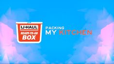 Packing your kitchen has never been so easy! No assembly necessary with the eco-friendly U-Haul Ready-To-Go℠ Boxes, just start packing👍 Click through to learn about this new and sustainable packing solution. Moving Crates, Moving Boxes, Moving Tips, Moving Day, Moving Truck Rental, Packing Tips, Kitchen Box, Ready To Go, In This Moment
