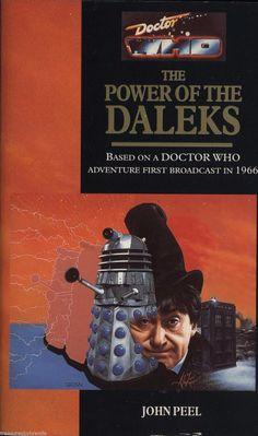Doctor Who The Power of the Daleks John Peel Vintage 1993 Target PB Book #154. #doctorwho