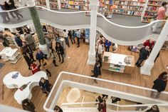Cărturești Carusel Bookstore in Bucharest  | Opening night | carturesticarusel.ro #amazing #bookstore #carturesti