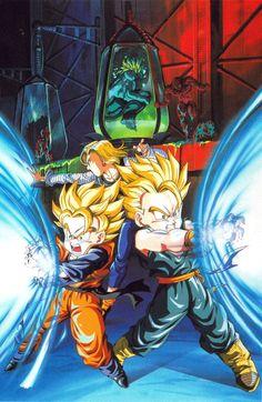 Dragon Ball Z poster by Tadayoshi Yamamuro